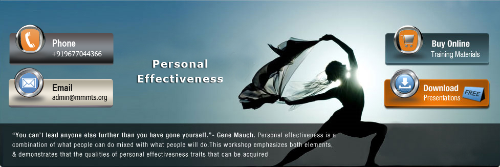 Personal Effectiveness - Lead Self